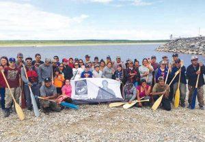 Luke_Diamond_tribute_by_canoe_brigade