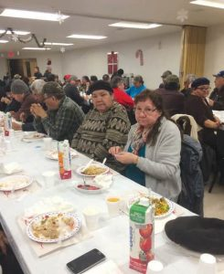 Waskaganish_Elders_XMas_feast